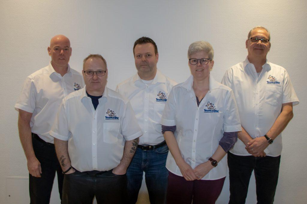 Der aktuelle Vorstand aus 2019